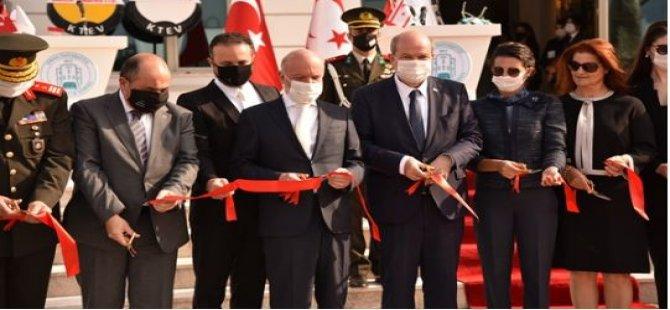 Cumhurbaşkanı Tatar Girne Üniversitesi Büyük Kütüphanesi İle Kültür, Kongre Ve Sergi Sarayı'nı Açtı