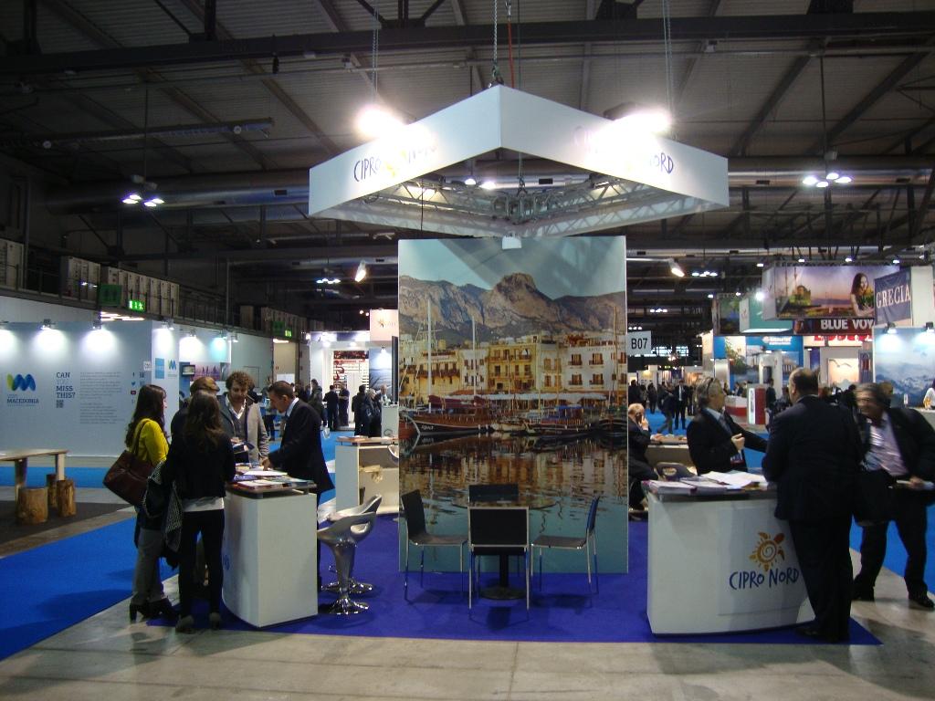 """KKTC, """"BİT Milano 2014"""" turizm fuarında temsil ediliyor."""