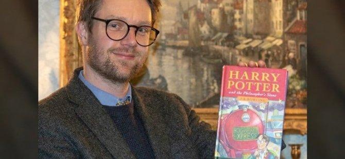 Beş liraya satılmak için kenara ayrılan 'Harry Potter' kitabının değeri 525 bin lira çıktı