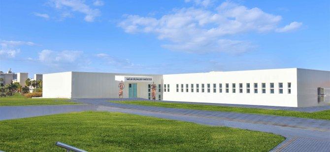 Girne Üniversitesi Sağlık Bilimleri Fakültesinin Yeni Binası, Cumhurbaşkanı Ersin Tatar Tarafından 18 Aralık Cuma Günü Açılacak.