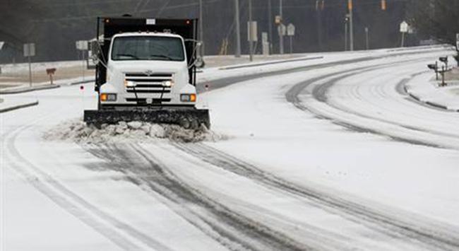 ABD'de kar, İngiltere'de sel