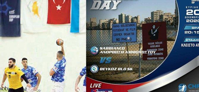"""Beykoz Belediyespor ile Anorthosis, """"Güney Kıbrıs'ta"""" Mağusa'da karşılaştı"""