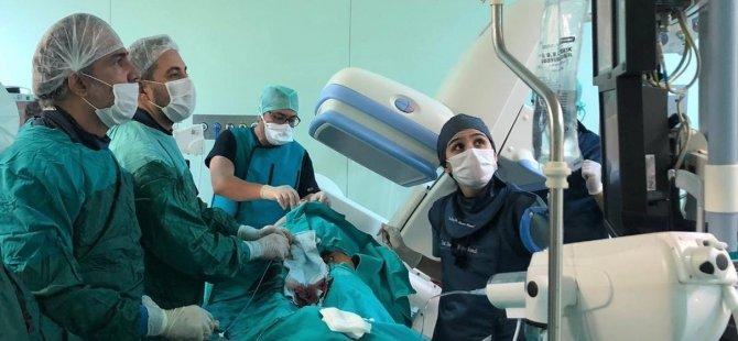 Η τρύπα εμφανίστηκε στην καρδιά του ασθενούς που είχε καρδιακή προσβολή, έκλεισε με τη μέθοδο της ομπρέλας που εφαρμόστηκε για πρώτη φορά στην Κύπρο.