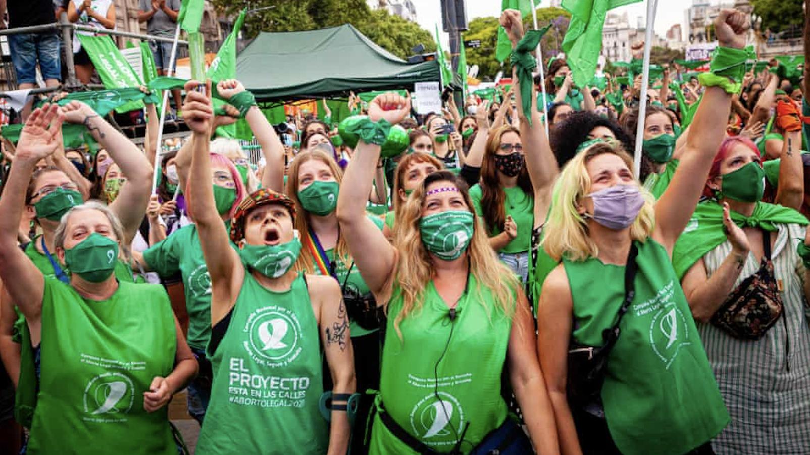 Arjantin, kürtajın yasallaştığı ilk Latin Amerika ülkesi oldu!