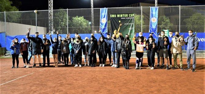 DAÜ Kış Kupası Tenis Turnuvası'nda Şampiyonlar Belli Oldu