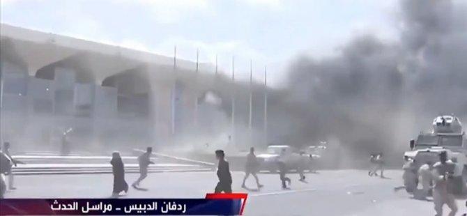 Aden Havalimanı'nda Art Arda Patlamalar: 13 Ölü, 65 Yaralı
