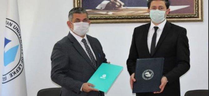 LAÜ ile Yunus Emre Enstitüsü arasında iş birliği protokolü imzalandı