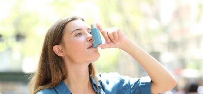 Astım Hastalarına Dezenfektan Uyarısı