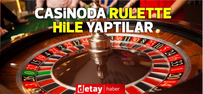 Casino'da Rulette hile...Arkadaşının oynadığı sayılara topu düşürdü