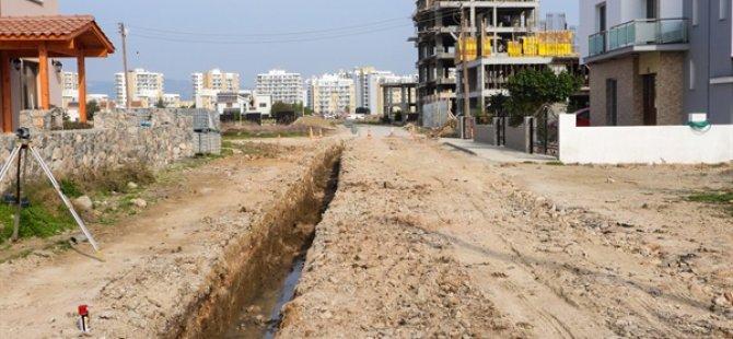 İskele Belediyesinin Long Beach Projesi'nin İlk Etap Çalışmalarına Başlandı