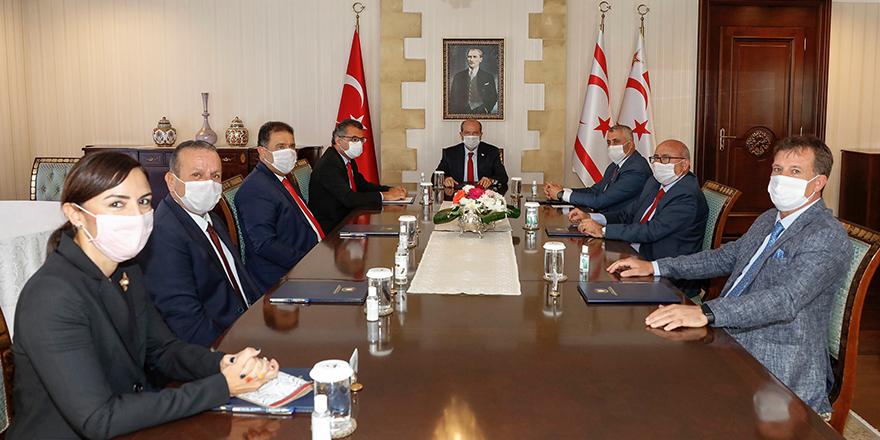 Tatar, parti başkanlarıyla görüşecek