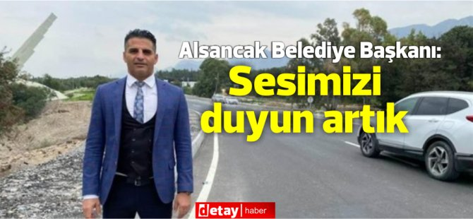 """Alsancak Belediye'nden Hükümete """"Alsancak- Lapta yolunu tamamlayın"""" çağrısı"""