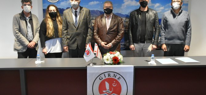 Girne Belediyesi ile Arkın Grup arasında işbirliği