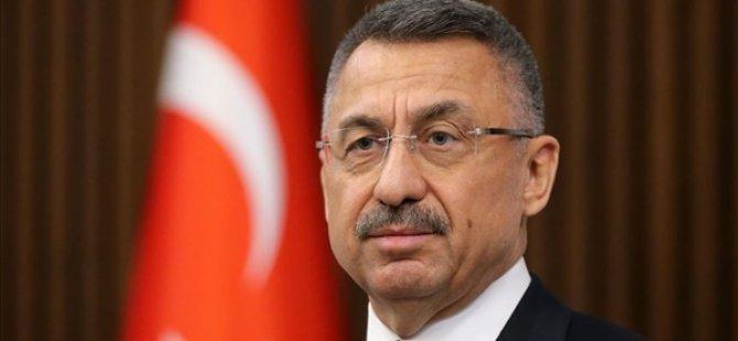 TC Cumhurbaşkanı Yardımcısı Oktay, Dr. Fazıl Küçük'ü Andı
