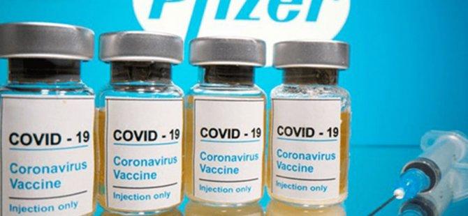 """AB'den """"Pfizer"""" aşısı geldi. Aşılar başlayan aşı programına dahil edilecek"""