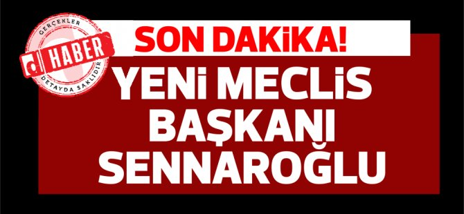Yeni Meclis Başkanı Önder Sennaroğlu seçildi