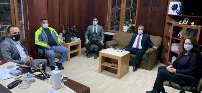 Pilli, Lapta Ve Alsancak Belediye Başkanları Ve Lapta Sağlık Ocağı Sorumlu Hekimiyle Görüştü