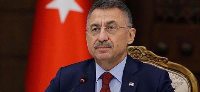 TC Cumhurbaşkanı Yardımcısı Oktay, Kayınpederi Vefat Eden Başbakan Saner'e Başsağlığı Diledi