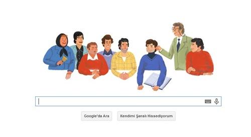 Google, Ertem Eğilmez'in Doğum Gününü Unutmadı