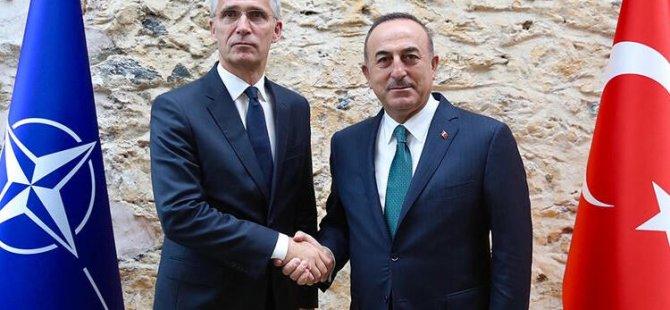TC Dışişleri Bakanı Çavuşoğlu, Nato Genel Sekreteri Stoltenberg İle Görüştü