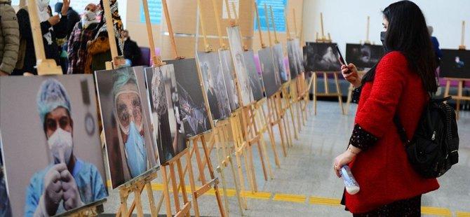 'Kovid-19 savaşçılarının' mücadelesi fotoğraflara yansıdı