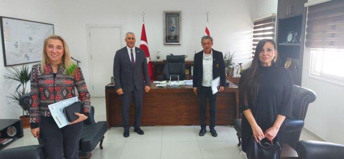 DAÜ Iletişim Fakültesi'nden Bakan Olgun Amcaoğlu'na Ziyaret
