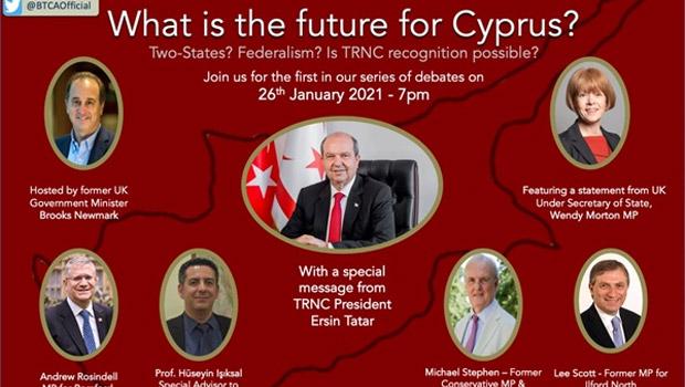 Kıbrıs'ın geleceği, BTCA ve CTCA'nın online seminerinde tartışılacak
