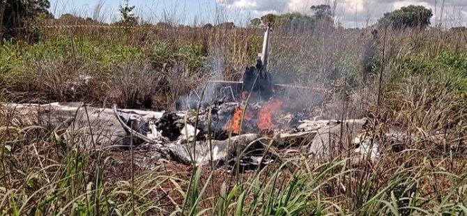 Brezilya'da futbolcuları taşıyan uçak düştü: 6 ölü