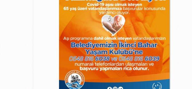 65 Yaş Ve  Üzerindeki Vatandaşlar Covid-19 Aşısi Için Gazimağusa Belediyesine Kayıt Yaptırabılecek