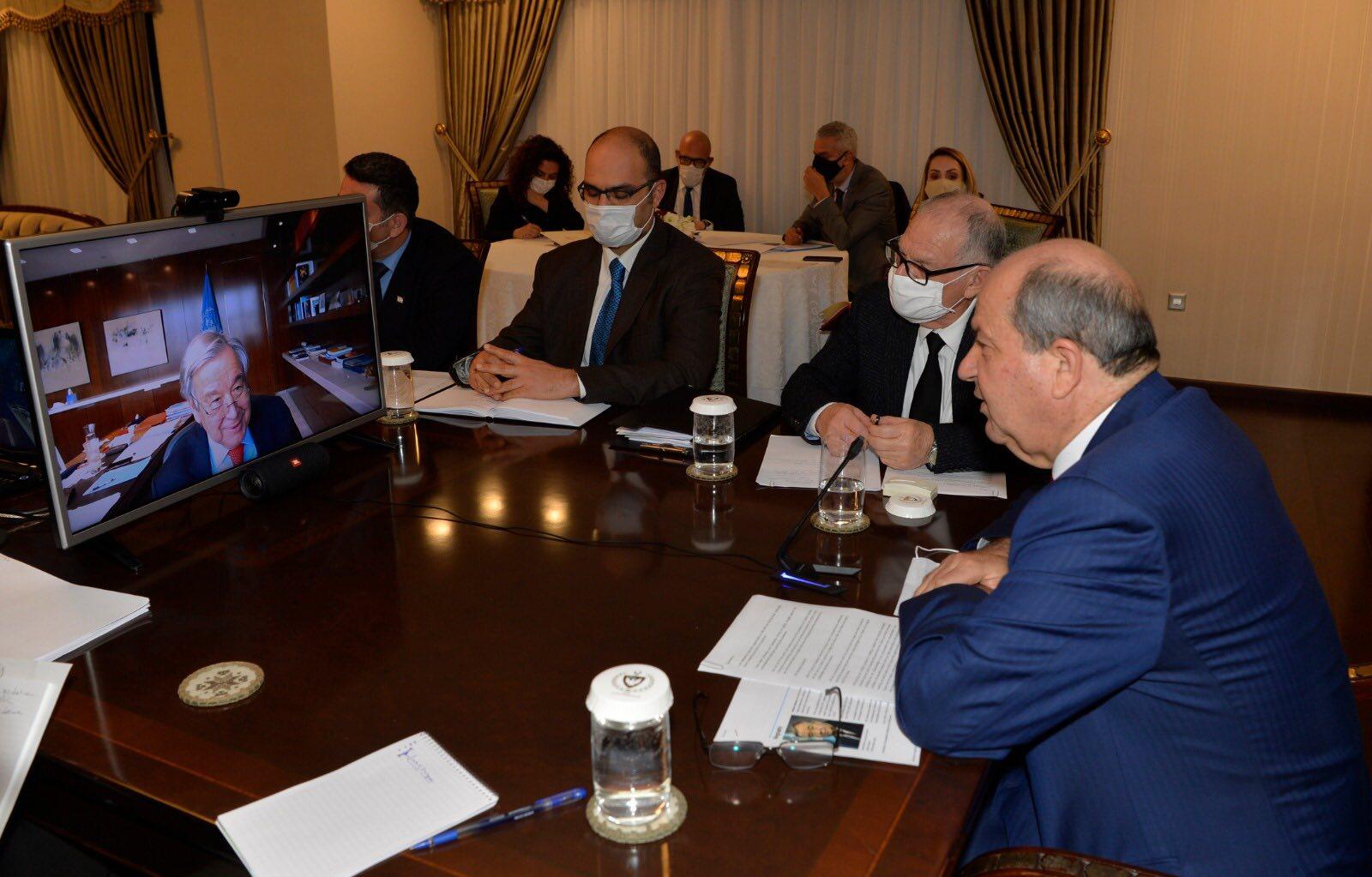 Tatar  Guterres  ile görüş