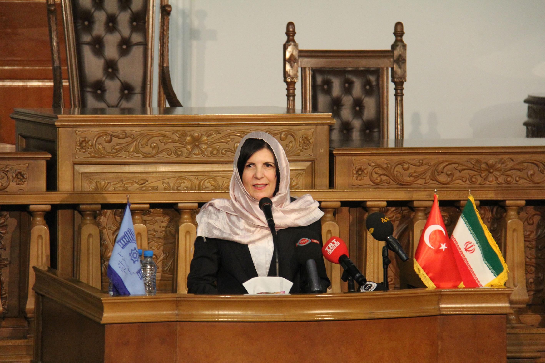 Sibel Siber Tahran'da Temas ve İncelemelerde Bulundu