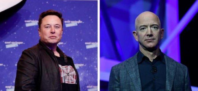 Elon Musk-Jeff Bezos: Dünyanın en zengin iki insanının uzayda 'yörünge savaşı'