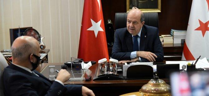 """Tatar:""""Guterres, Annan Planı sürecinde Kıbrıslı Türkler için bir haksızlık olduğunu söyledi"""""""