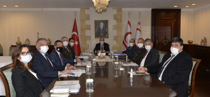 Cumhurbaşkanlığı'nda Üst Koordinasyon Kurulu Toplantısı yapıldı
