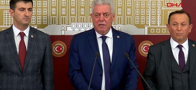 CHP'den 3 milletvekili istifa etti