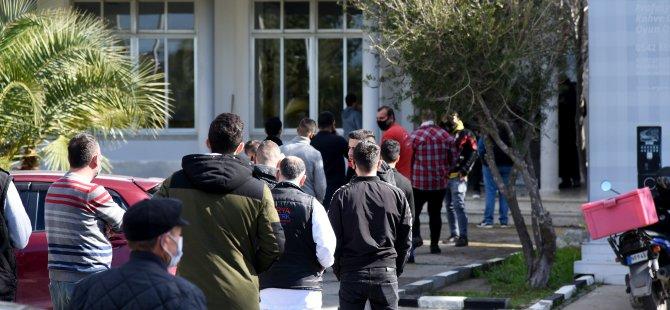 Lefkoşa'da saat 11.00 itibariyle 212 kişi ücretsiz PCP testi yaptırdı