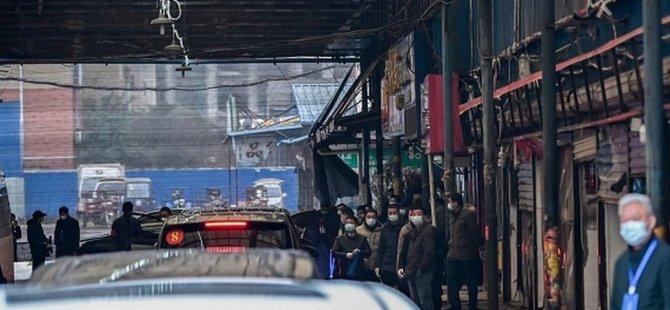 Koronavirüs: DSÖ ekibi Wuhan'daki Huanan balık pazarında inceleme yaptı