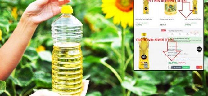 Türkiye'de PTT, ayçiçek yağını daha ucuza satan şirkete dava açıyor