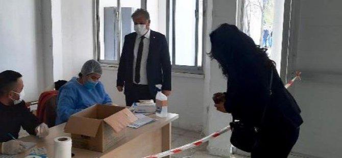 Sağlık Bakanı Ali Pilli, Girne Dr. Akçiçek Hastanesi'ni ziyaret etti