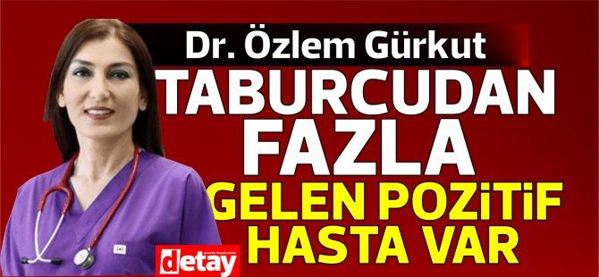 """Dr. Özlem Gürkut: """"Taburcu olandan fazla yeni gelen pozitif vaka var"""""""