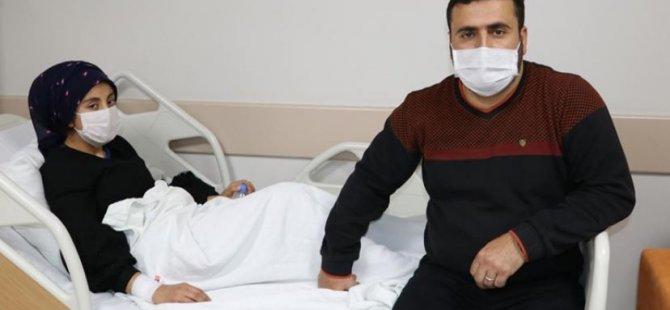 Hapşırma nöbetine girdi hastanede tedaviyle kurtuldu