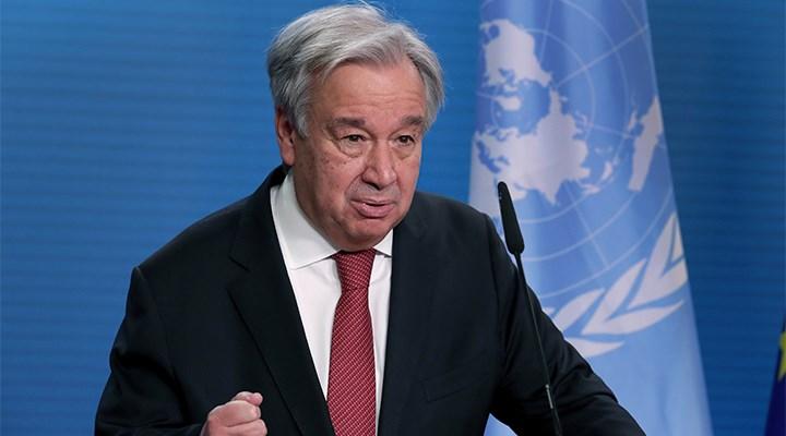 BM Sekreteri Guterres: Bazı ülkeler salgını bahane edip muhalif sesleri kıstı
