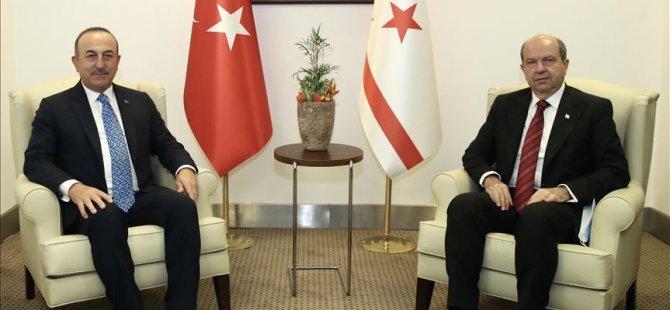 Cumhurbaşkanı Tatar, Türkiye Dışişleri Bakanı Çavuşoğlu'nu kabul edecek