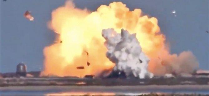 Spacex'in Test Ettiği Starship Mekiği İkinci Kez İniş Sırasında Patladı
