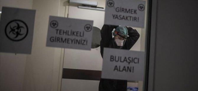 Türkiye'de 7 bin 763 vaka, 97 ölüm...