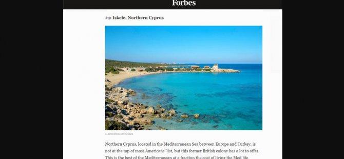 Forbes, Kuzey Kıbrıs'ı 2021'de Sahil Kıyısında En İyi Fırsat Sunan Ülke Olarak Gösterdi