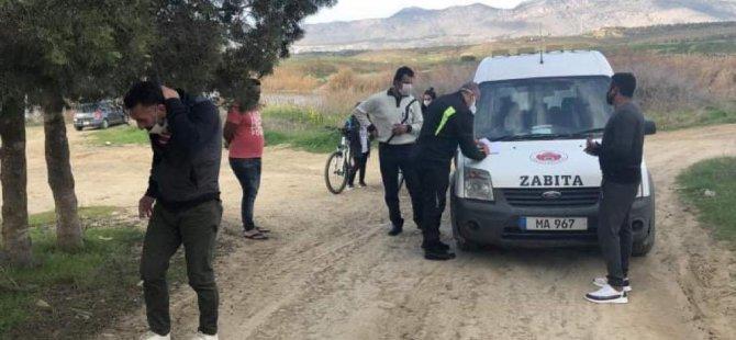 Gönyeli Belediyesi 6 kişiye ceza kesti