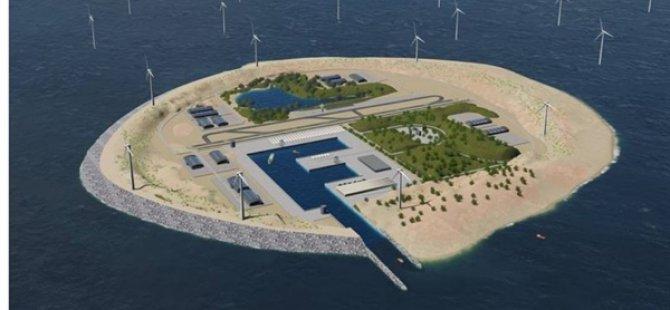 Danimarka Dünyanın İlk Enerji Adasını İnşa Edecek