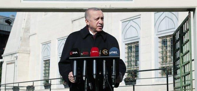 Erdoğan: Yürekleri yetse 'Cumhurbaşkanı da istifa etmelidir' diyecekler