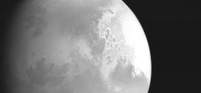 Çin'in Mars Keşif Uydusu Dünya'ya İlk Görüntüsünü Yolladı